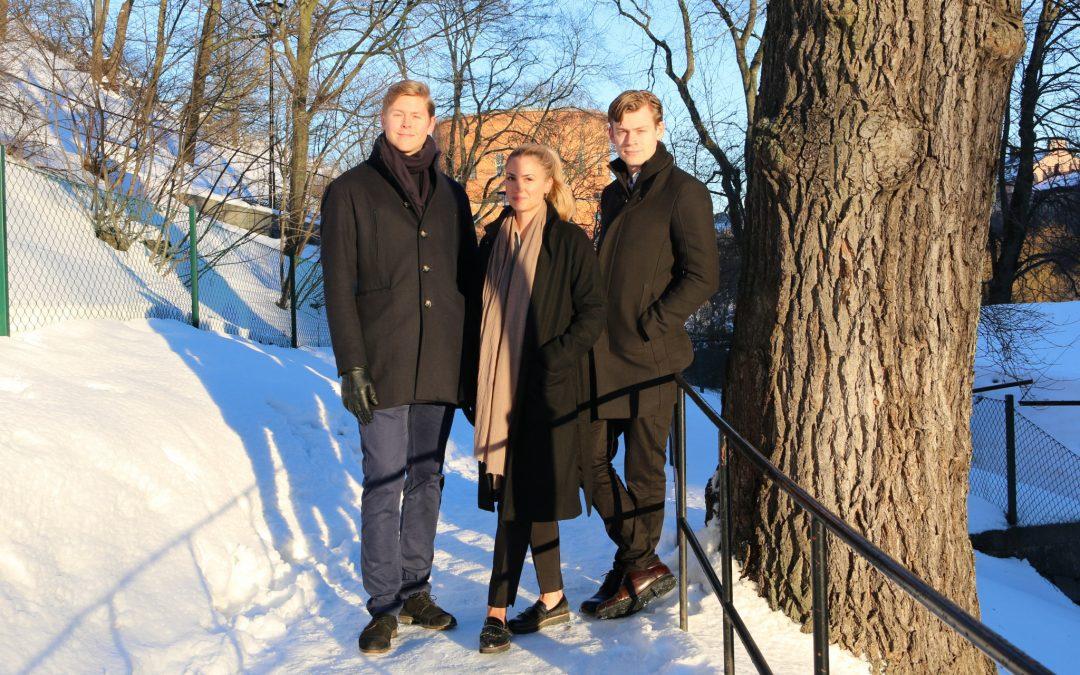 Välkomna till Lumell Anna, Axel och Anton!